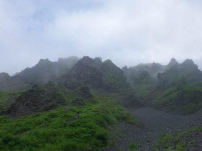 大山 三ノ沢(三ノ峰)・キリン山