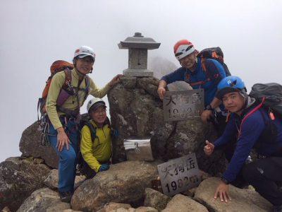 石鎚山東稜(その1)