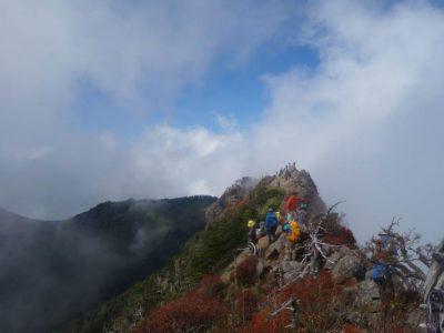 石鎚山東稜(その2)