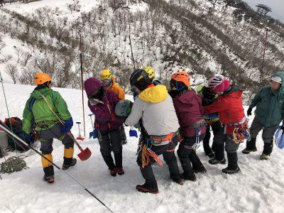 岳連積雪期研修会及び講習会
