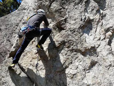 千石岩 クライミング
