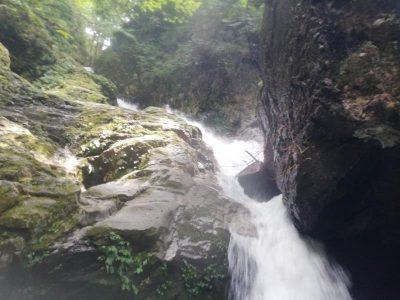 比良 奥の深谷