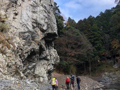 保津峡 落合の岩場